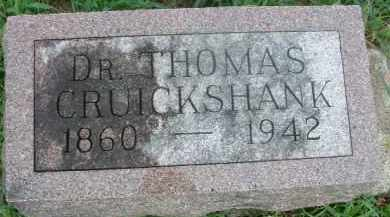 CRUICKSHANK, THOMAS - Clay County, South Dakota | THOMAS CRUICKSHANK - South Dakota Gravestone Photos