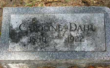 DAHL, CAROLINE - Clay County, South Dakota | CAROLINE DAHL - South Dakota Gravestone Photos