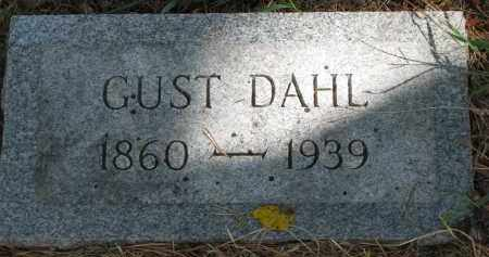 DAHL, GUST - Clay County, South Dakota | GUST DAHL - South Dakota Gravestone Photos