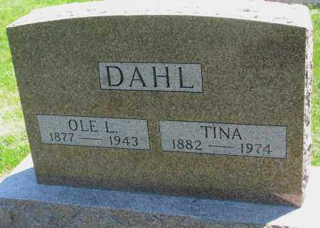 DAHL, OLE L. - Clay County, South Dakota | OLE L. DAHL - South Dakota Gravestone Photos