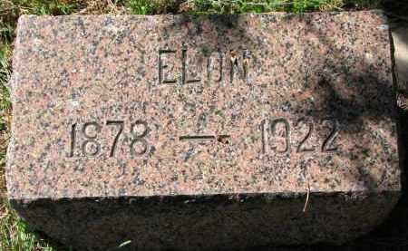 DAHLBERG, ELON - Clay County, South Dakota   ELON DAHLBERG - South Dakota Gravestone Photos