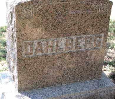DAHLBERG, FAMILY STONE - Clay County, South Dakota | FAMILY STONE DAHLBERG - South Dakota Gravestone Photos