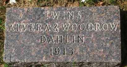 DAHLIN, ALVERA - Clay County, South Dakota | ALVERA DAHLIN - South Dakota Gravestone Photos