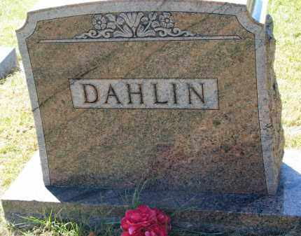 DAHLIN, FAMILY STONE - Clay County, South Dakota | FAMILY STONE DAHLIN - South Dakota Gravestone Photos