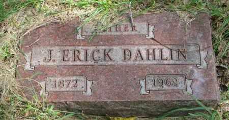 DAHLIN, J. ERICK - Clay County, South Dakota | J. ERICK DAHLIN - South Dakota Gravestone Photos