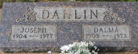 DAHLIN, DALMA - Clay County, South Dakota | DALMA DAHLIN - South Dakota Gravestone Photos