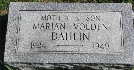 DAHLIN, VOLDEN - Clay County, South Dakota | VOLDEN DAHLIN - South Dakota Gravestone Photos
