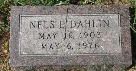 DAHLIN, NELS E. - Clay County, South Dakota | NELS E. DAHLIN - South Dakota Gravestone Photos