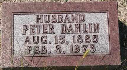 DAHLIN, PETER - Clay County, South Dakota | PETER DAHLIN - South Dakota Gravestone Photos