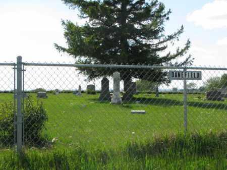*DANEFIELD, SIGN, GPS - Clay County, South Dakota | SIGN, GPS *DANEFIELD - South Dakota Gravestone Photos