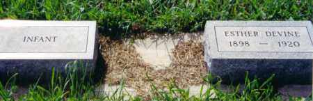 DEVINE, ESTHER - Clay County, South Dakota   ESTHER DEVINE - South Dakota Gravestone Photos