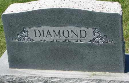 DIAMOND, FAMILY STONE - Clay County, South Dakota | FAMILY STONE DIAMOND - South Dakota Gravestone Photos