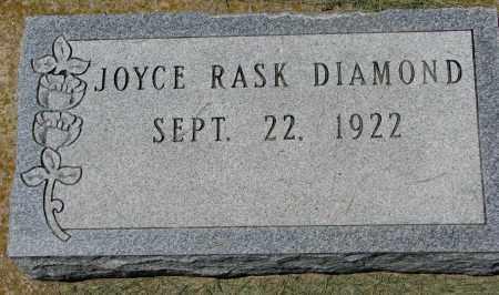 DIAMOND, JOYCE - Clay County, South Dakota   JOYCE DIAMOND - South Dakota Gravestone Photos