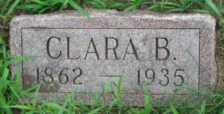 DOWLIN, CLARA B. - Clay County, South Dakota | CLARA B. DOWLIN - South Dakota Gravestone Photos
