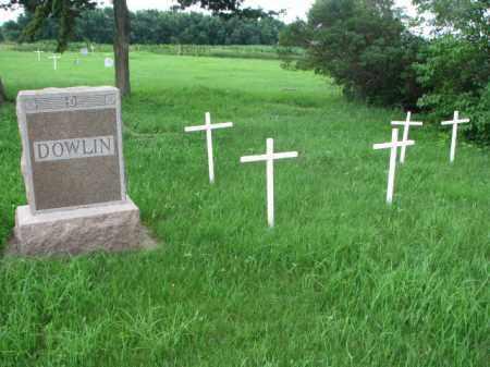 DOWLIN, FAMILY PLOT - Clay County, South Dakota   FAMILY PLOT DOWLIN - South Dakota Gravestone Photos