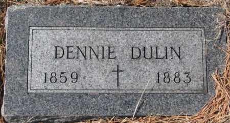 DULIN, DENNIE - Clay County, South Dakota | DENNIE DULIN - South Dakota Gravestone Photos