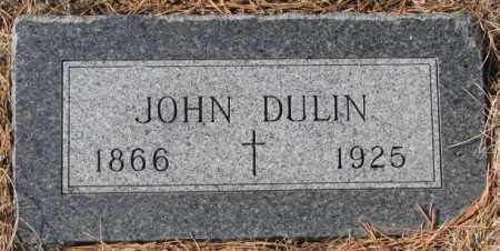 DULIN, JOHN - Clay County, South Dakota | JOHN DULIN - South Dakota Gravestone Photos