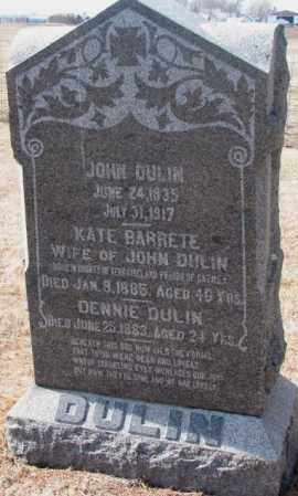 DULIN, JOHN - Clay County, South Dakota | JOHN DULIN - South Dakota Gravestone Photos