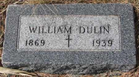 DULIN, WILLIAM - Clay County, South Dakota | WILLIAM DULIN - South Dakota Gravestone Photos