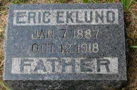 EKLUND, ERIC - Clay County, South Dakota | ERIC EKLUND - South Dakota Gravestone Photos