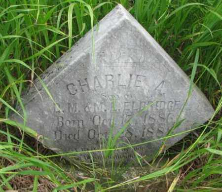 ELDREDGE, CHARLIE A. - Clay County, South Dakota | CHARLIE A. ELDREDGE - South Dakota Gravestone Photos