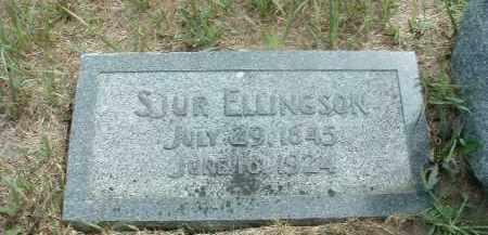 ELLINGSON, SJUR - Clay County, South Dakota   SJUR ELLINGSON - South Dakota Gravestone Photos