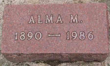 ELLISON, ALMA M. - Clay County, South Dakota | ALMA M. ELLISON - South Dakota Gravestone Photos