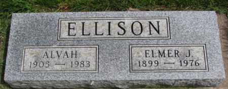 ELLISON, ELMER J. - Clay County, South Dakota   ELMER J. ELLISON - South Dakota Gravestone Photos