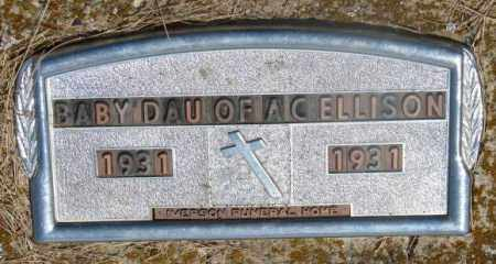 ELLISON, BABY GIRL - Clay County, South Dakota | BABY GIRL ELLISON - South Dakota Gravestone Photos