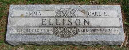 ELLISON, EMMA - Clay County, South Dakota | EMMA ELLISON - South Dakota Gravestone Photos