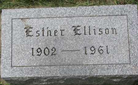 ELLISON, ESTHER - Clay County, South Dakota | ESTHER ELLISON - South Dakota Gravestone Photos
