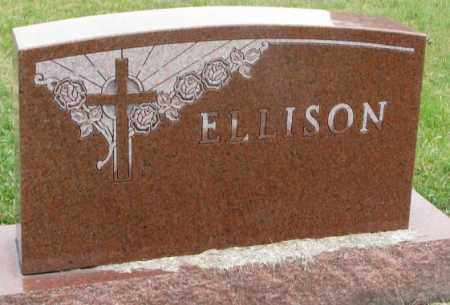 ELLISON, FAMILY STONE - Clay County, South Dakota   FAMILY STONE ELLISON - South Dakota Gravestone Photos