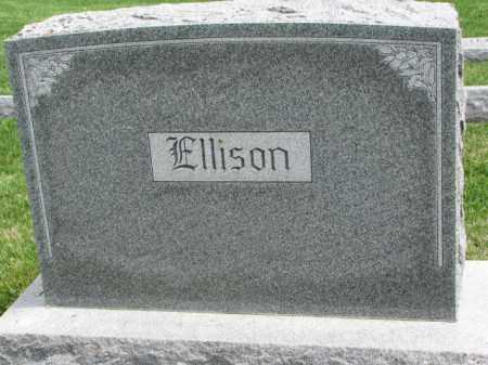 ELLISON, FAMILY STONE - Clay County, South Dakota | FAMILY STONE ELLISON - South Dakota Gravestone Photos