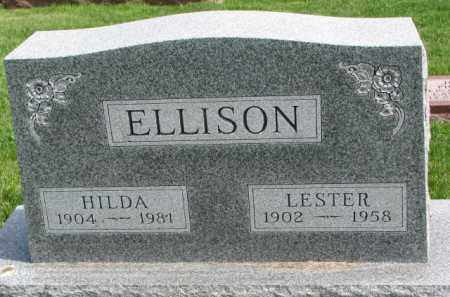 ELLISON, HILDA - Clay County, South Dakota | HILDA ELLISON - South Dakota Gravestone Photos