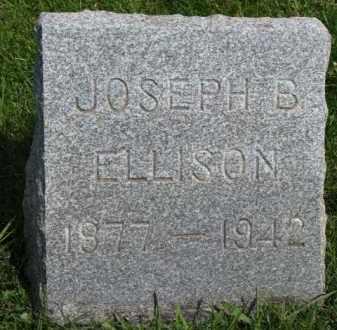 ELLISON, JOSEPH B. - Clay County, South Dakota | JOSEPH B. ELLISON - South Dakota Gravestone Photos