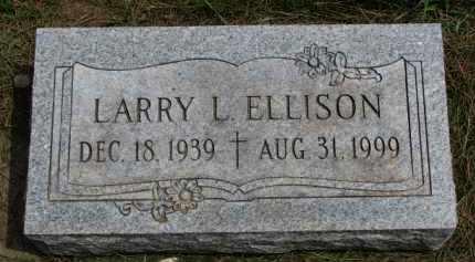 ELLISON, LARRY L. - Clay County, South Dakota | LARRY L. ELLISON - South Dakota Gravestone Photos