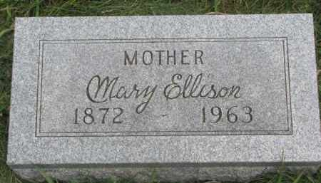 ELLISON, MARY - Clay County, South Dakota | MARY ELLISON - South Dakota Gravestone Photos