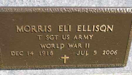 ELLISON, MORRIS ELI (WW II) - Clay County, South Dakota | MORRIS ELI (WW II) ELLISON - South Dakota Gravestone Photos