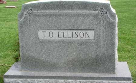 ELLISON, T.O. - Clay County, South Dakota   T.O. ELLISON - South Dakota Gravestone Photos