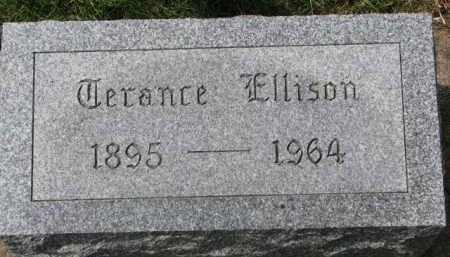 ELLISON, TERANCE - Clay County, South Dakota | TERANCE ELLISON - South Dakota Gravestone Photos