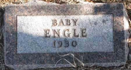 ENGLE, BABY - Clay County, South Dakota | BABY ENGLE - South Dakota Gravestone Photos