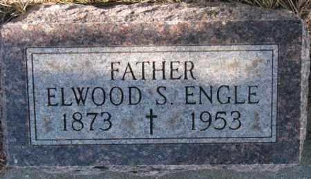 ENGLE, ELWOOD S. - Clay County, South Dakota | ELWOOD S. ENGLE - South Dakota Gravestone Photos