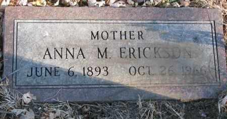 ERICKSON, ANNA M. - Clay County, South Dakota   ANNA M. ERICKSON - South Dakota Gravestone Photos