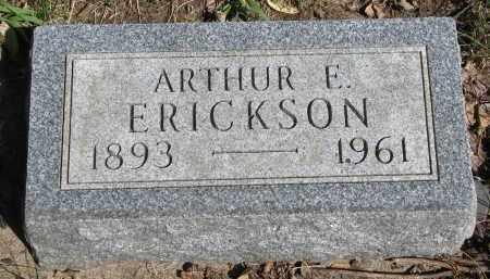 ERICKSON, ARTHUR E. - Clay County, South Dakota   ARTHUR E. ERICKSON - South Dakota Gravestone Photos