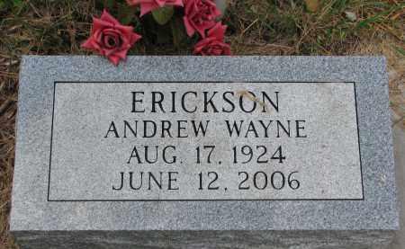 ERICKSON, ANDREW WAYNE - Clay County, South Dakota | ANDREW WAYNE ERICKSON - South Dakota Gravestone Photos