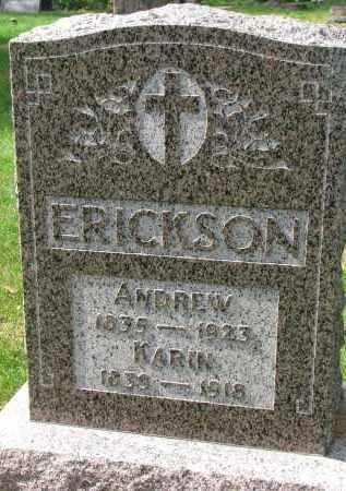 ERICKSON, KARIN - Clay County, South Dakota | KARIN ERICKSON - South Dakota Gravestone Photos