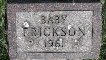 ERICKSON, BABY - Clay County, South Dakota   BABY ERICKSON - South Dakota Gravestone Photos