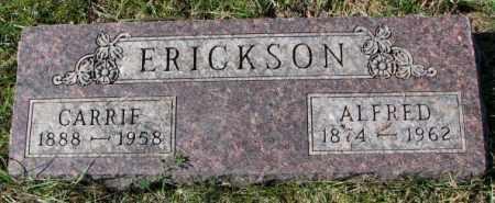 ERICKSON, CARRIE - Clay County, South Dakota | CARRIE ERICKSON - South Dakota Gravestone Photos