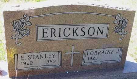 ERICKSON, LORRAINE J. - Clay County, South Dakota | LORRAINE J. ERICKSON - South Dakota Gravestone Photos