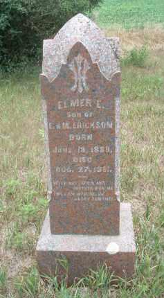 ERICKSON, ELMER E. - Clay County, South Dakota | ELMER E. ERICKSON - South Dakota Gravestone Photos